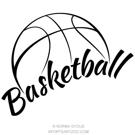 Half Basketball Clipart - Half Basketball Clipart (95+ images in Collection) Page 2