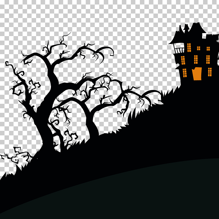 Haunted Attraction Png - Halloween Haunted attraction Trick-or-treating Illustration ...