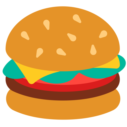 Cheeseburger Oreos Png - Hamburger Emoji Transparent & PNG Clipart Free Download - YWD