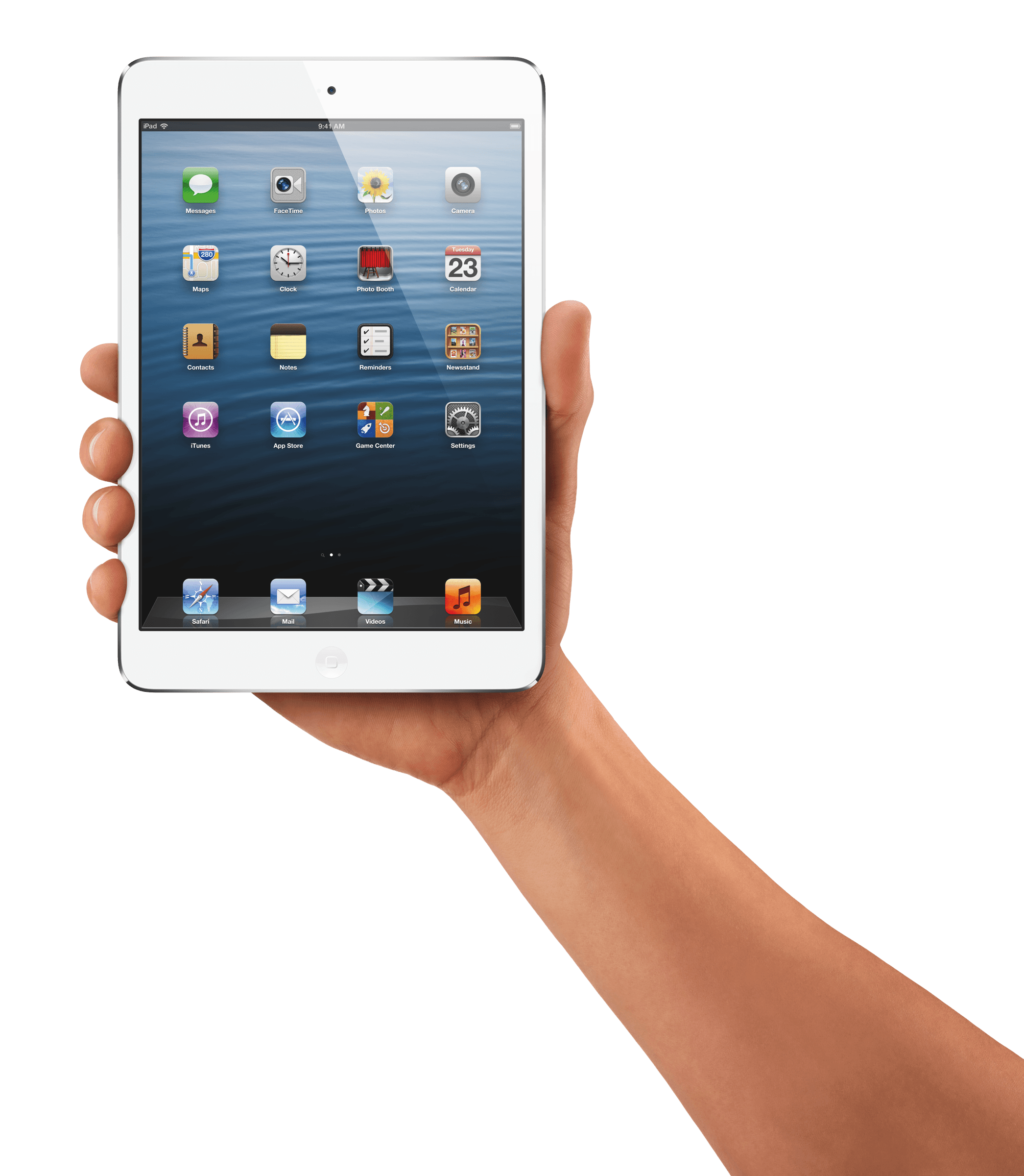 Ipad Hand Png - Hand Holding Ipad Tablet transparent PNG - StickPNG