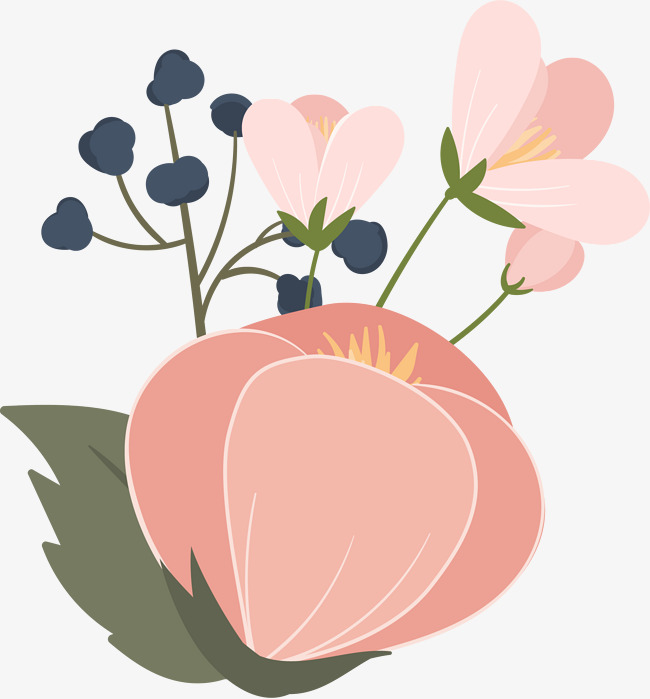 Pink Cartoon Flowers Png Free Pink Cartoon Flowers Png Transparent Images 66093 Pngio