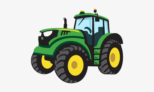 Hand Painted Tractor Tractor Clipart C 184525 Png Images Pngio