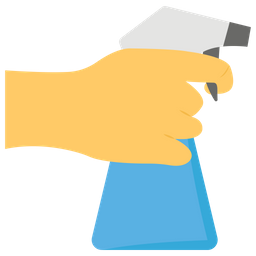 Hand Spray Icon Of Flat Style Availabl Png Images Pngio