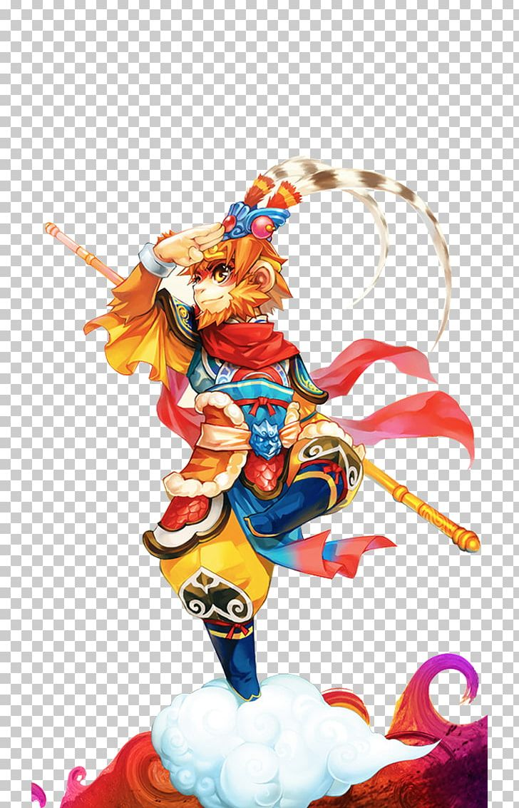 Monkey King Png - Handsome Monkey King PNG, Clipart, Action Figure, Ani, Animation ...