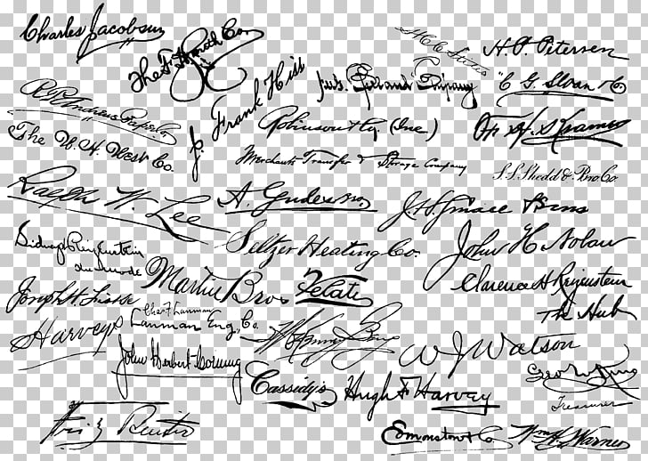 Cursive Handwriting Png - Handwriting Signature Cursive Calligraphy, others PNG clipart ...