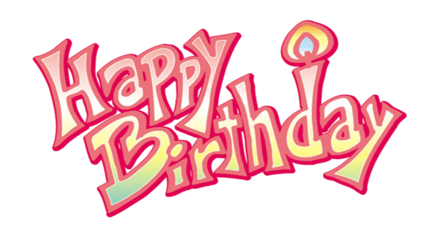 Happy Birthday Png - Happy Birthday PNG Transparent Image