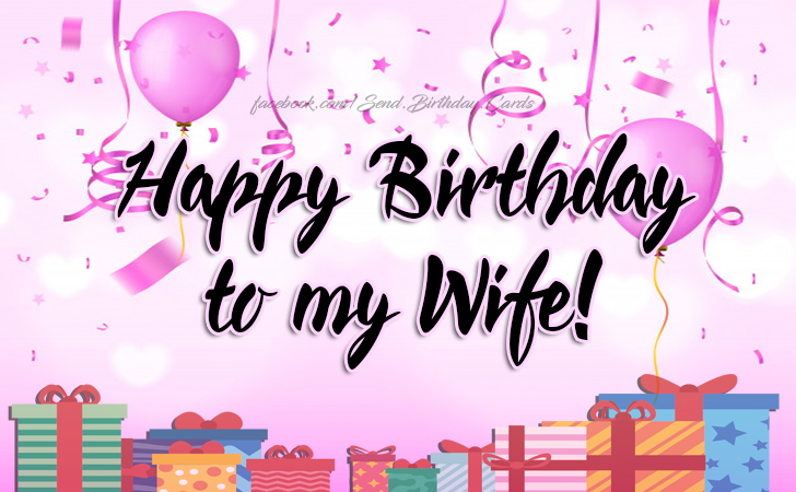 Wife Birthday Png - Happy Birthday to my Wife! - Free Happy Birthday Cards, Images ...