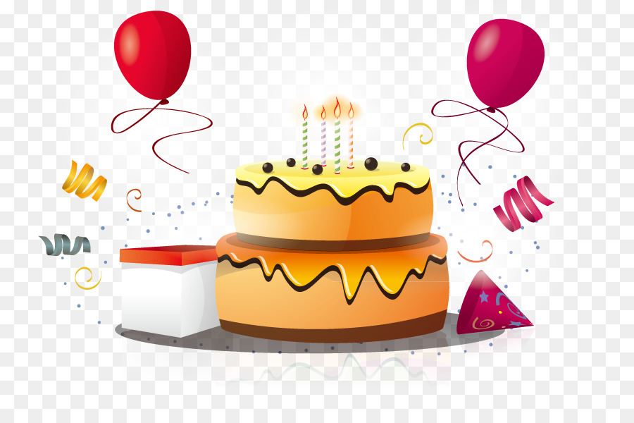 Happy Birthday Daughter Png - Happy Birthday To You Cake