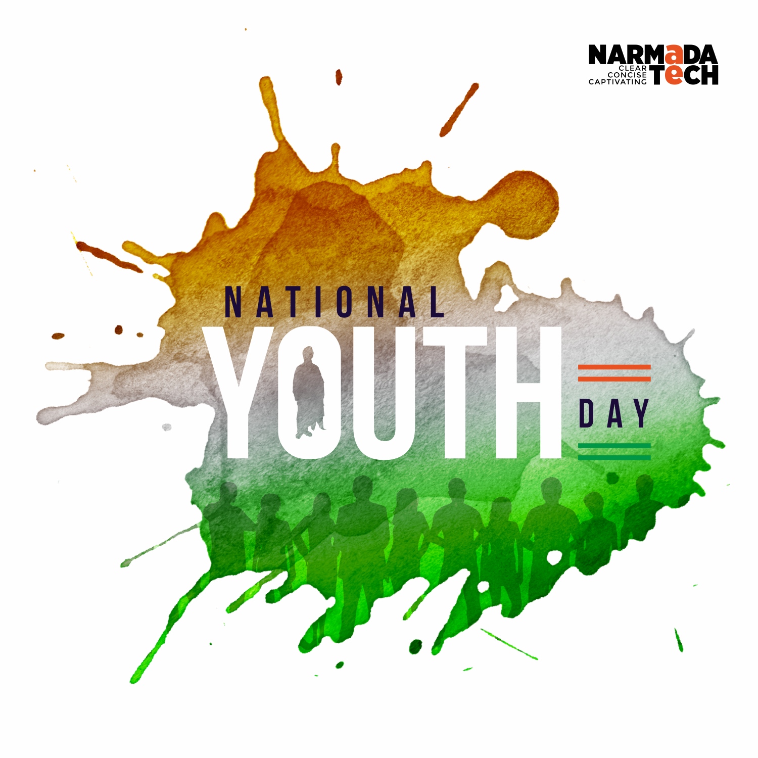 """National Youth Day Png - Happy National Youth Day"""" #NationalYouthDay #Youth #Design #Vector ..."""