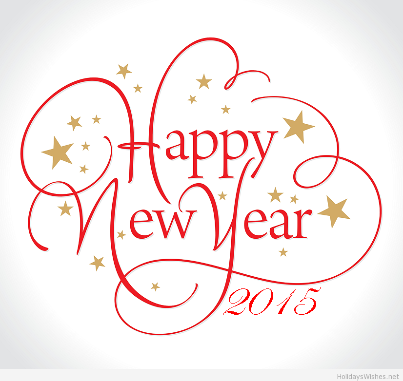 Happy New Year 2015 Png - Happy New Year! ~ Flour Me With Love