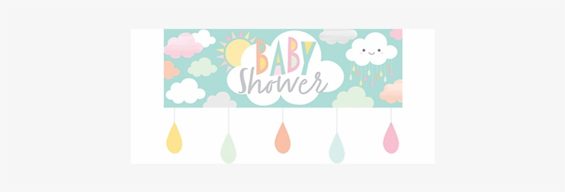 Happy Showers Party Banner Baby Shower 1526721 Png Images Pngio