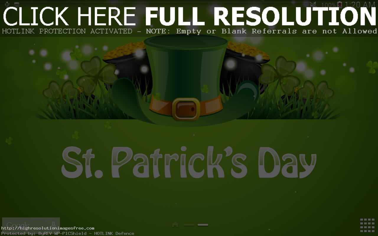 Happy St Patrick S Day Hd Wallpaper F 468808 Png Images Pngio