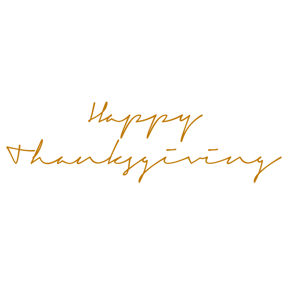 Happy Thanksgiving Transparent Background & Free Happy ...