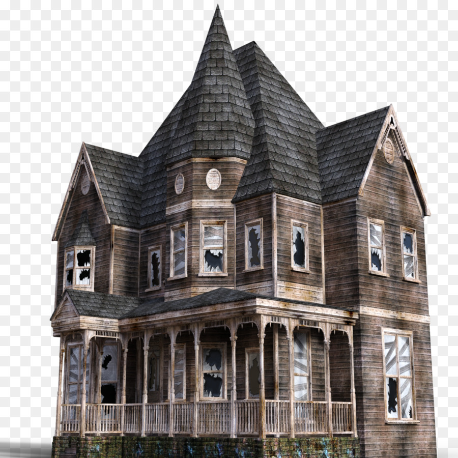 Haunted Attraction Png - Haunted House Cartoon png download - 1024*1024 - Free Transparent ...