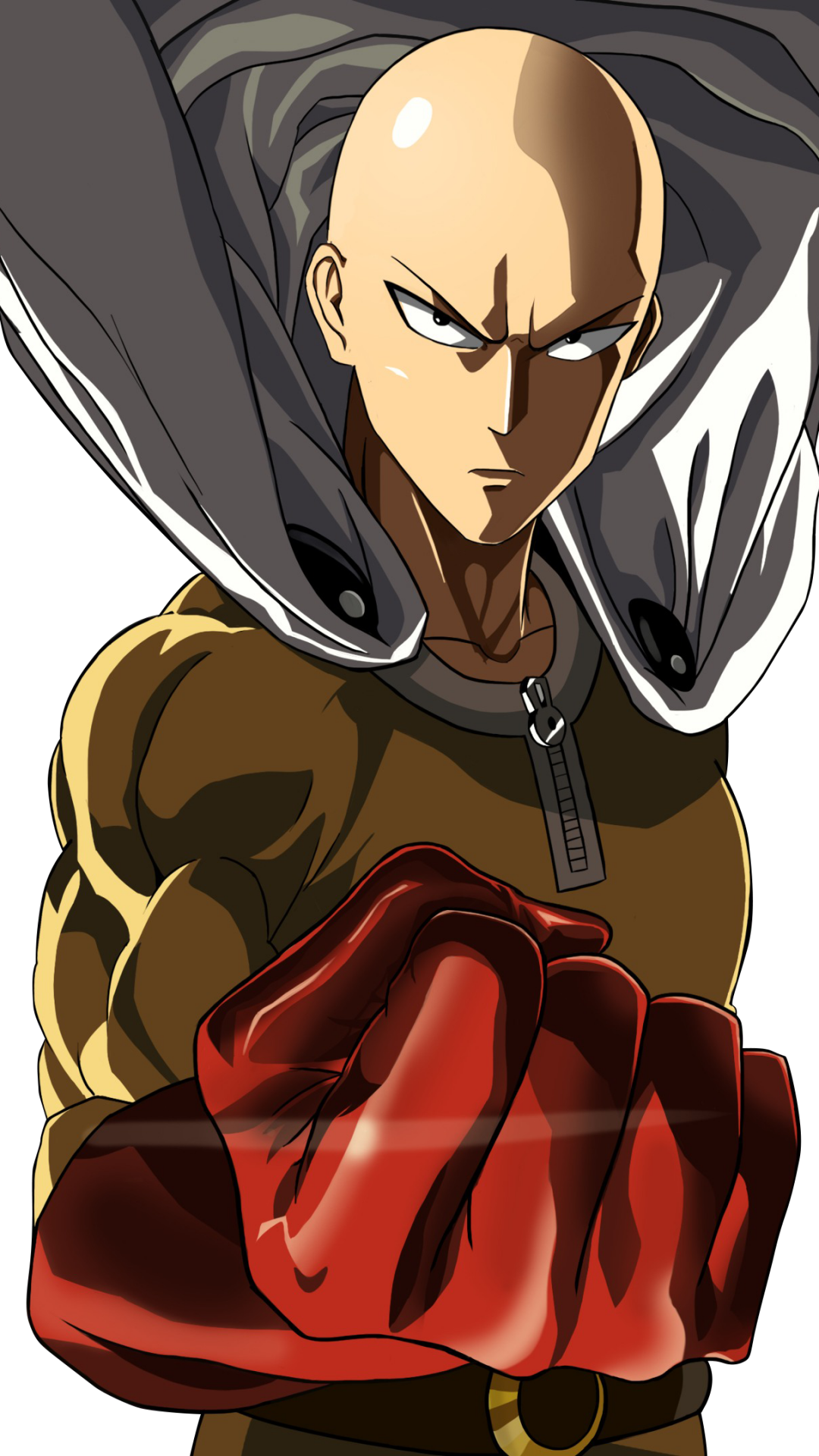 Hd Anime One Punch Man Mobile Wallpape 1061641 Png Images Pngio