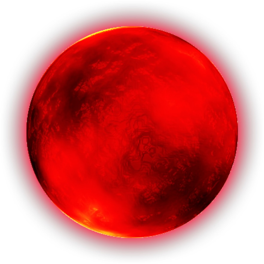 Red Moon Png - HD Clip Art Ftestickers Redmoon Sticker By - Circle , Free ...