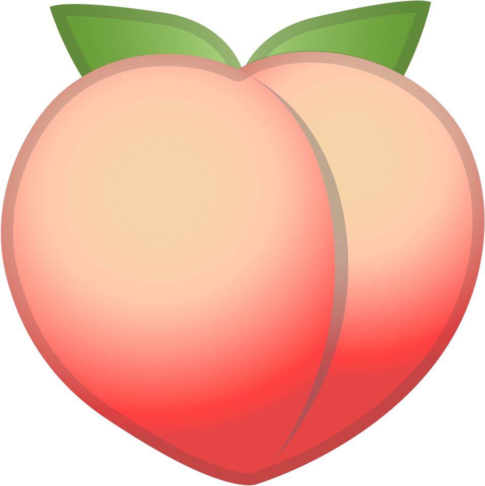 HD Download Svg Download Png - Peach Emo #489699 - PNG