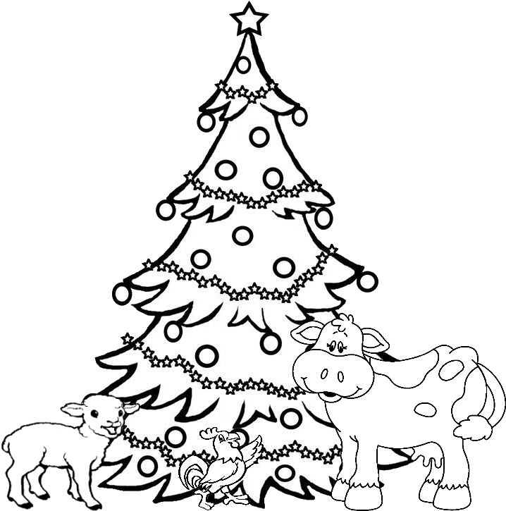 Christmas Tree Coloring Pages Png Free Christmas Tree Coloring Pages Png Transparent Images 65211 Pngio