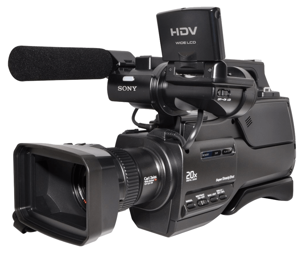 Sony Camcorders Png - Hdv Sony Video Camera transparent PNG - StickPNG