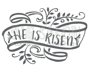 He Is Risen Easter Svg Cut File Set For 241729 Png Images Pngio