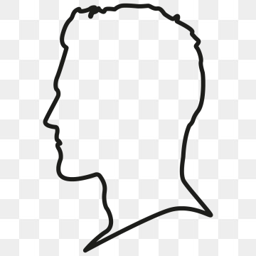 Head Outline Png - Head Silhouette Png, Vector, PSD, and Clipart With Transparent ...