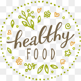 Healthy Food Logo, Green, Healthy Food, #73668 - PNG Images