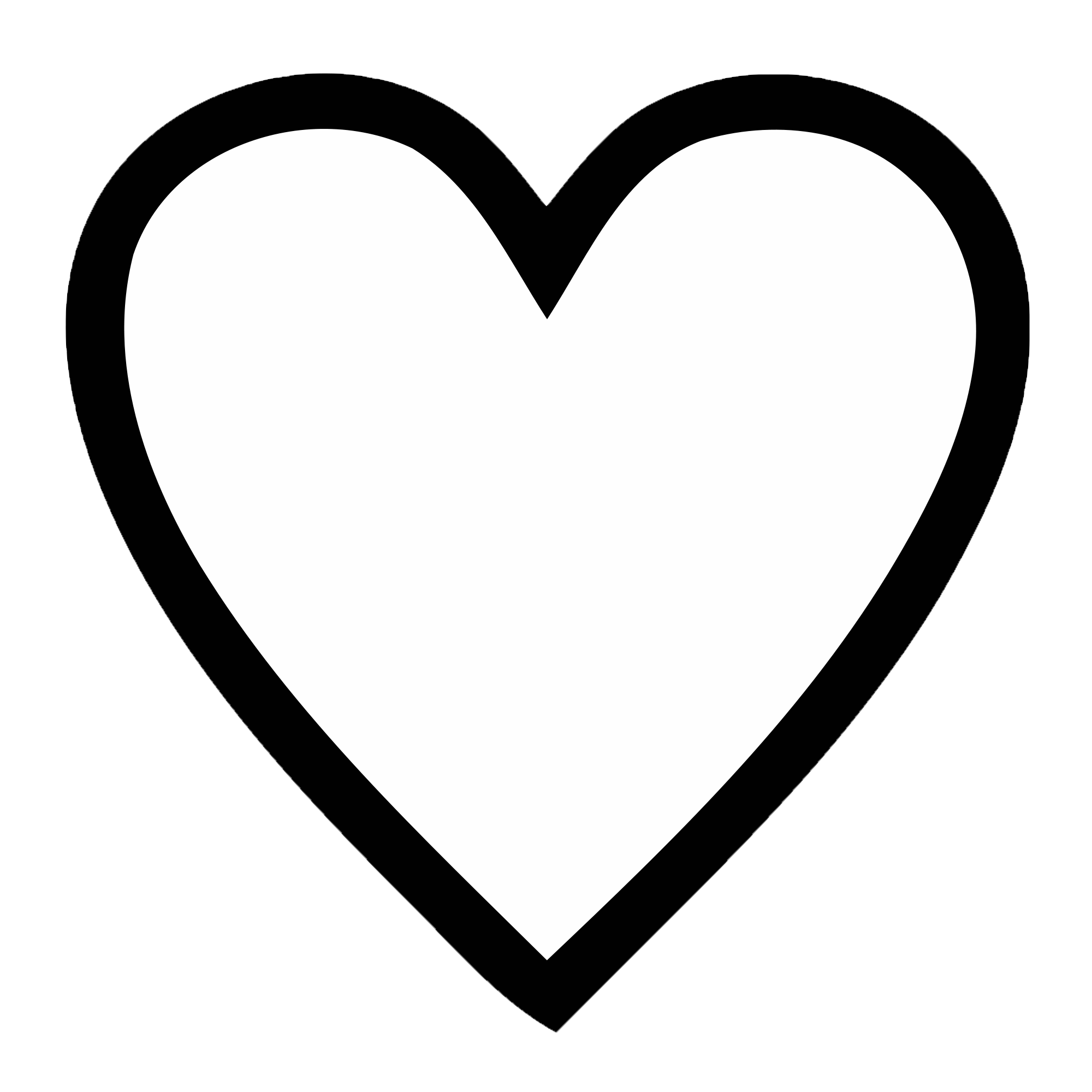 Black And White Love Heart Png & Free Black And White Love ...