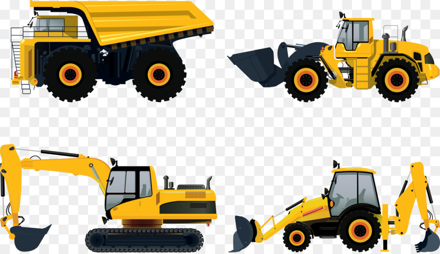 Car Construction Png - Heavy equipment Architectural engineering Car Caterpillar Inc ...