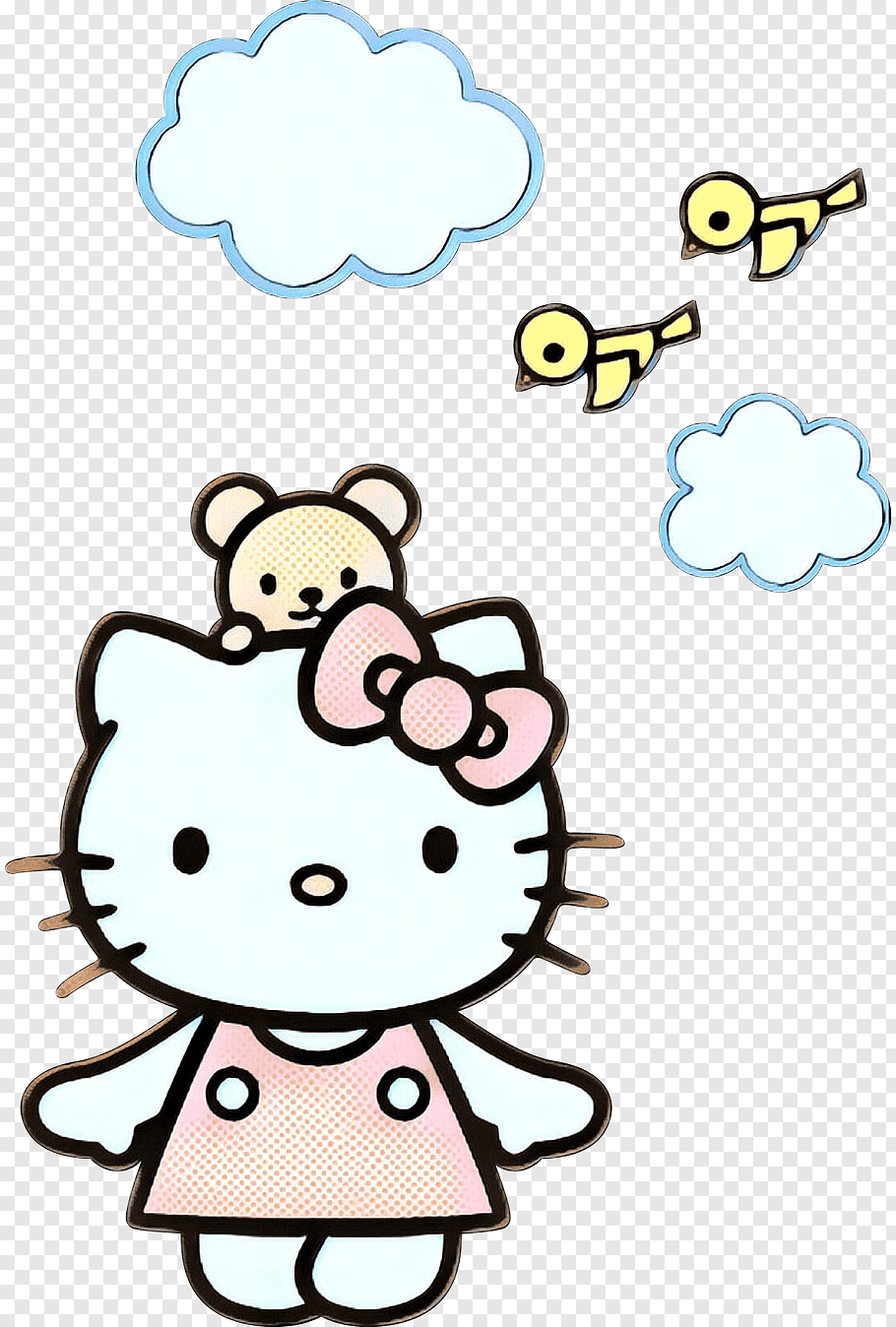 Hello Kitty Head My Melody Sanrio Hel 2579421 Png Images Pngio