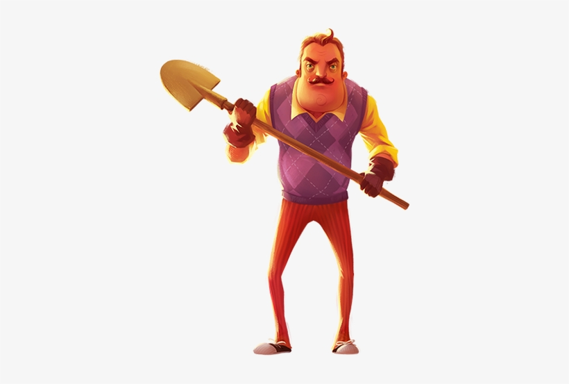Free Png Neighbours - Hello Neighbor Is A Stealth Horror Game About Sneaking - Hello ...