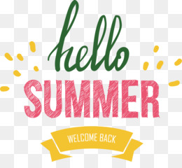 Hello Summer Png Hello Summer Banner 2396597 Png Images Pngio