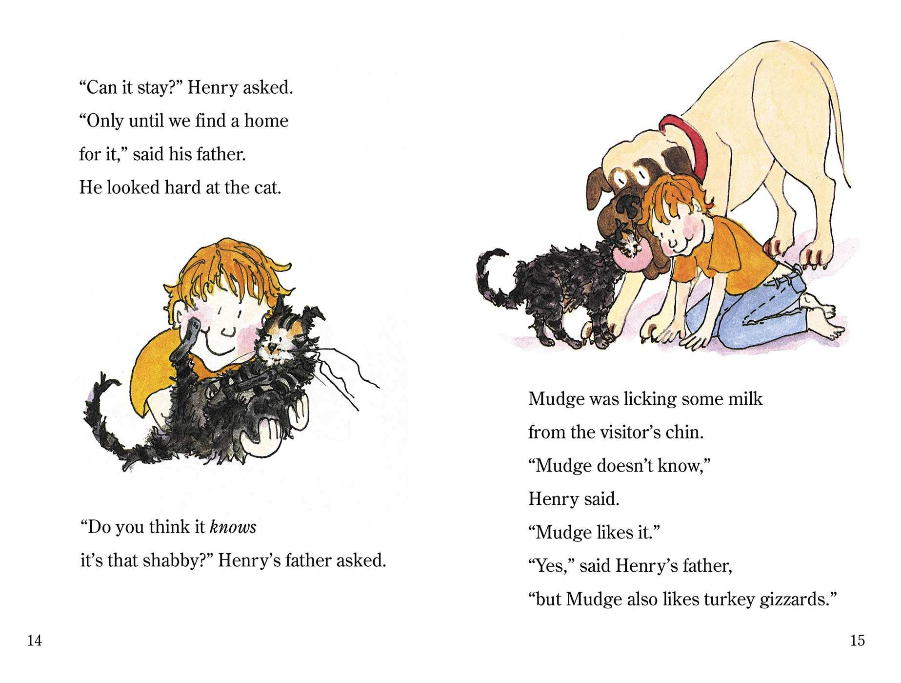 Henry and Mudge: The First Book (Journeys 2nd Grade) - Saddle Up ...   1399x1847