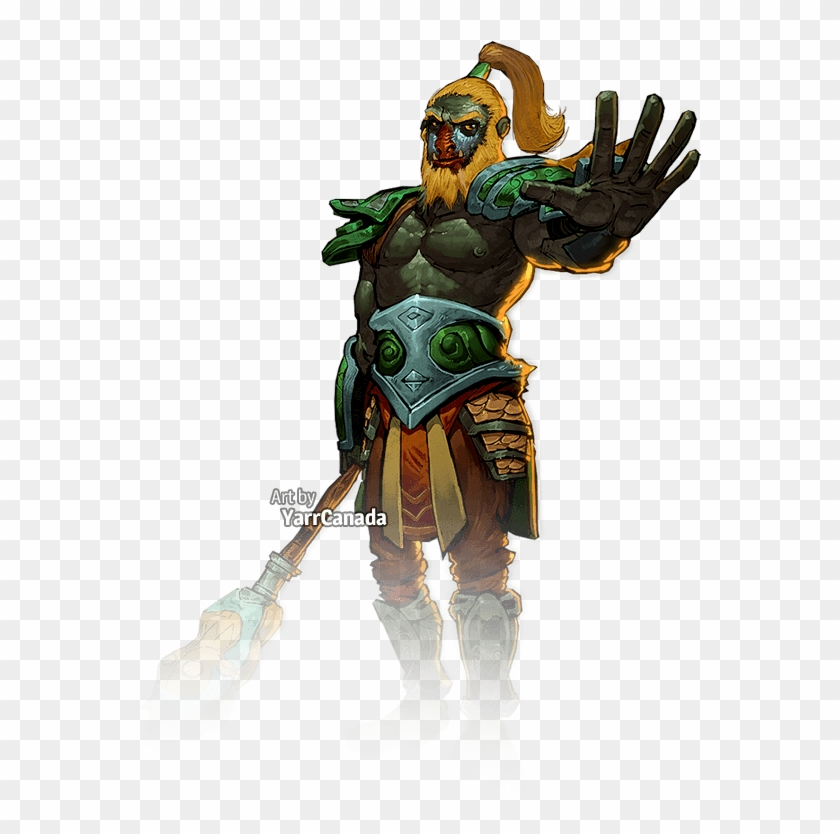 Monkey King Png - Heroes Of Newerth Monkey King, HD Png Download (#3843221), Free ...