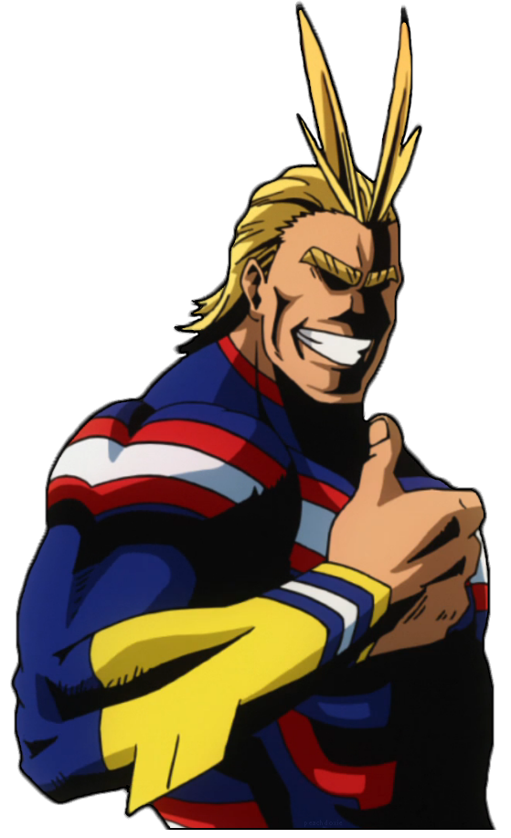 Transparent All Might & Free Transparent All Might.png ...