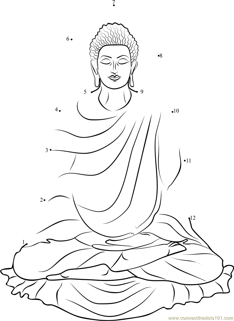 Buddha Coloring Pages Png - Hindu Mythology: Buddha #46 (Gods and Goddesses) – Printable ...
