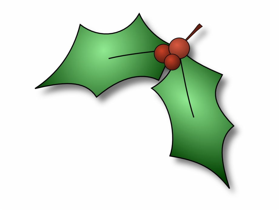 Holly Berries Clip Art Transparent Background