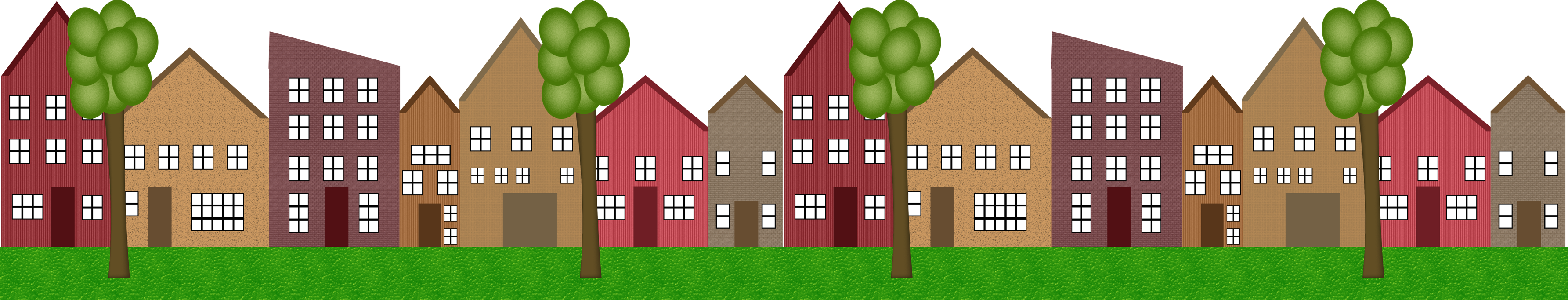 Terraced House Png - Home clipart terraced house, Home terraced house Transparent FREE ...