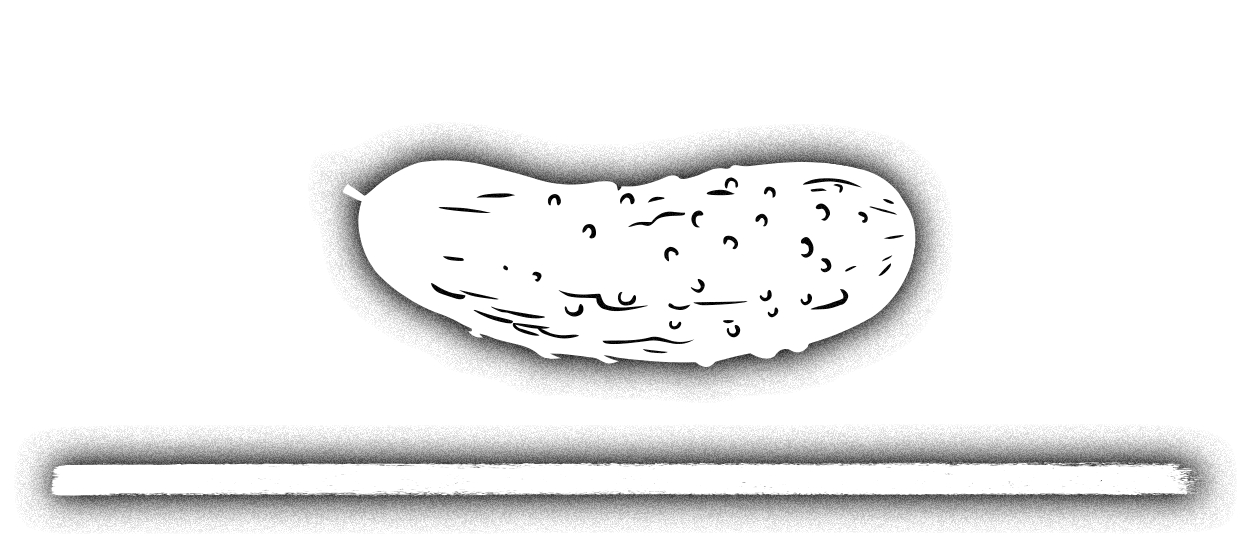 Pickle Png Black And White - Home | Pittsburgh Pickle Company