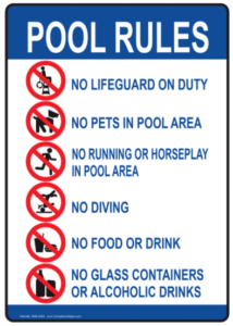 Home Swimming Pool Rules ... #97876 - PNG Images - PNGio