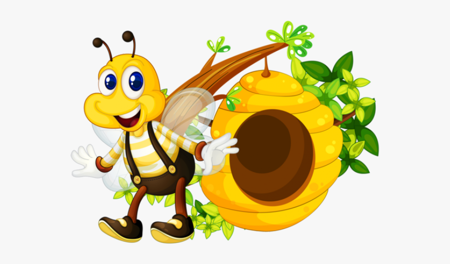 Honey Bee Clipart Png Transparent Cart 1412434 Png Images Pngio