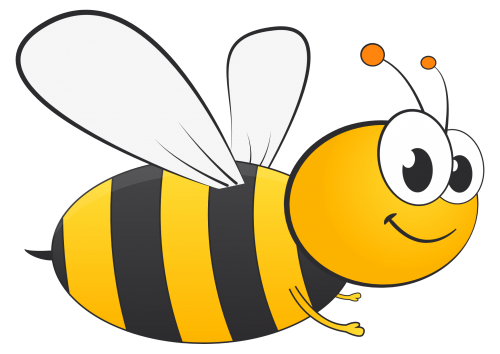 Bee Png Transparent - Honey Bee Vector PNG Transparent Image