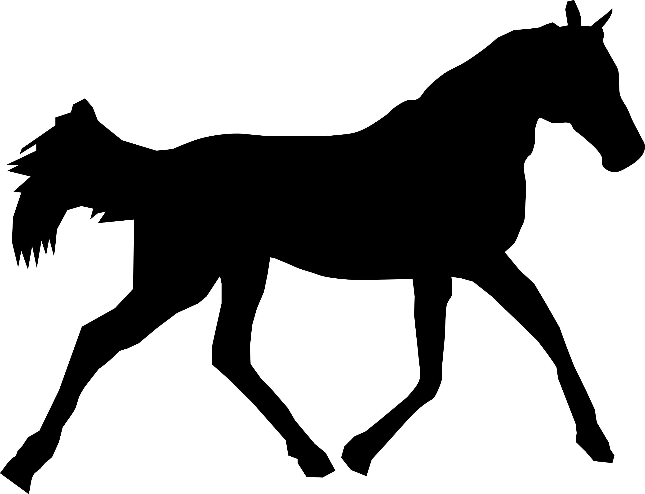 Pony Silhouette Png - Horse Pony Silhouette Clip art - animal silhouettes png download ...