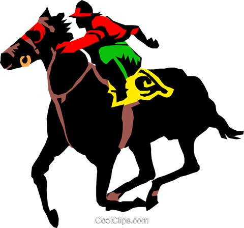 Horse Race Royalty Free Vector Clip Art 168532 Png Images Pngio