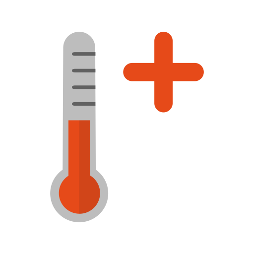 Warm Png - Hot Icon of Flat style - Available in SVG, PNG, EPS, AI & Icon fonts