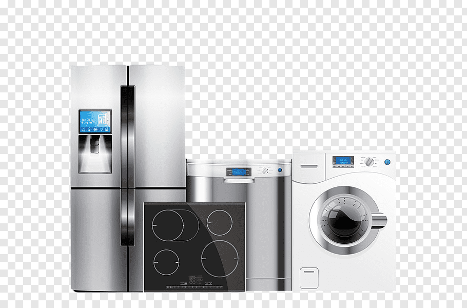 Roopa Electonics  Home Appliance Service Png - House appliances, Home appliance Refrigerator Washing machine, A ...