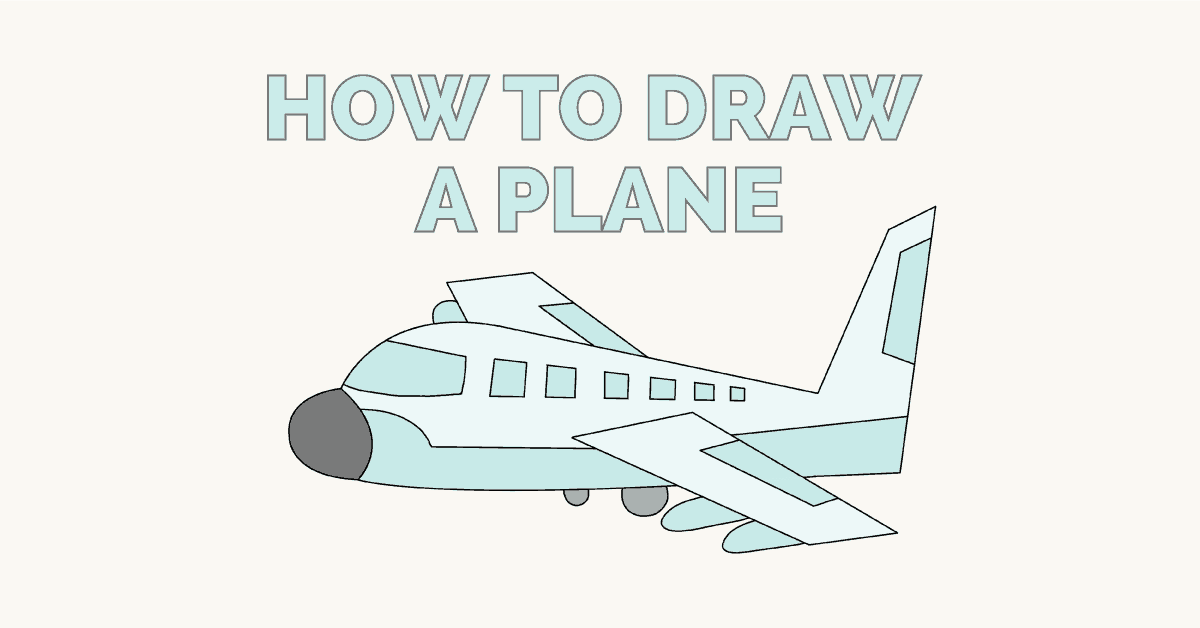 How To Draw An Airplane Easy Drawing G 1624462 Png Images Pngio