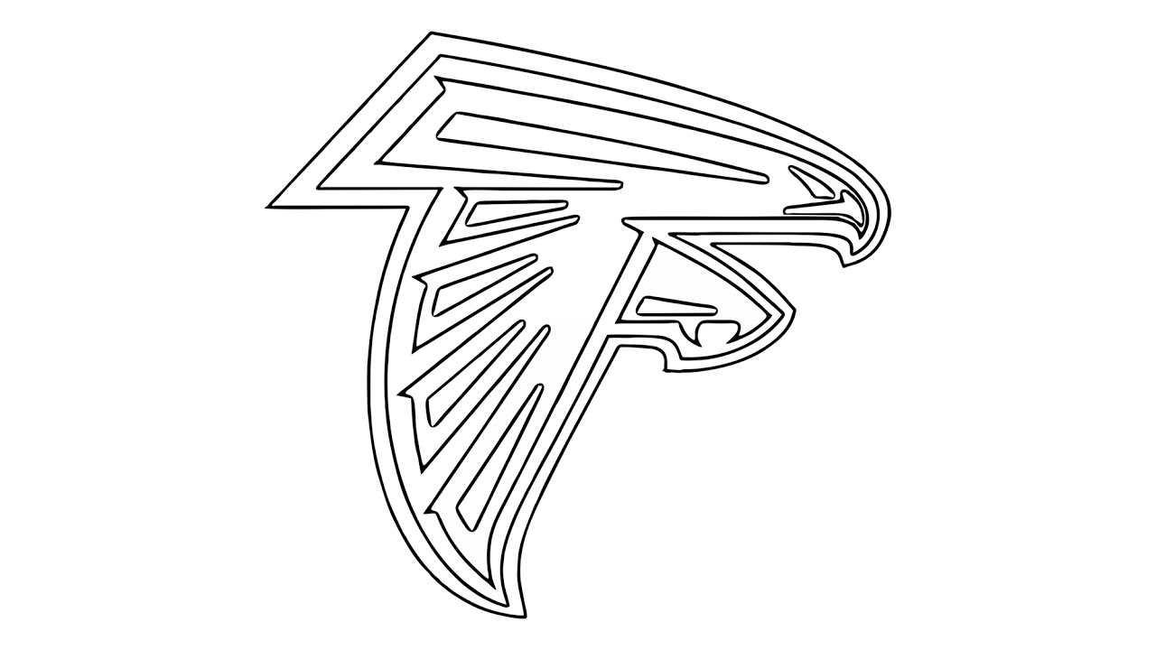 How To Draw The Atlanta Falcons Logo Nf 897438 Png Images Pngio
