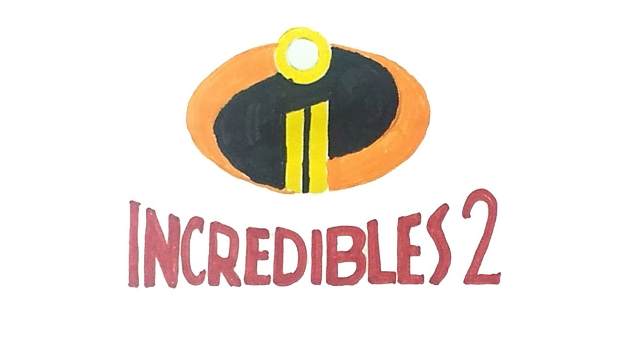 Incredibles 2 Logo - How to Draw the Incredibles 2 Logo - YouTube