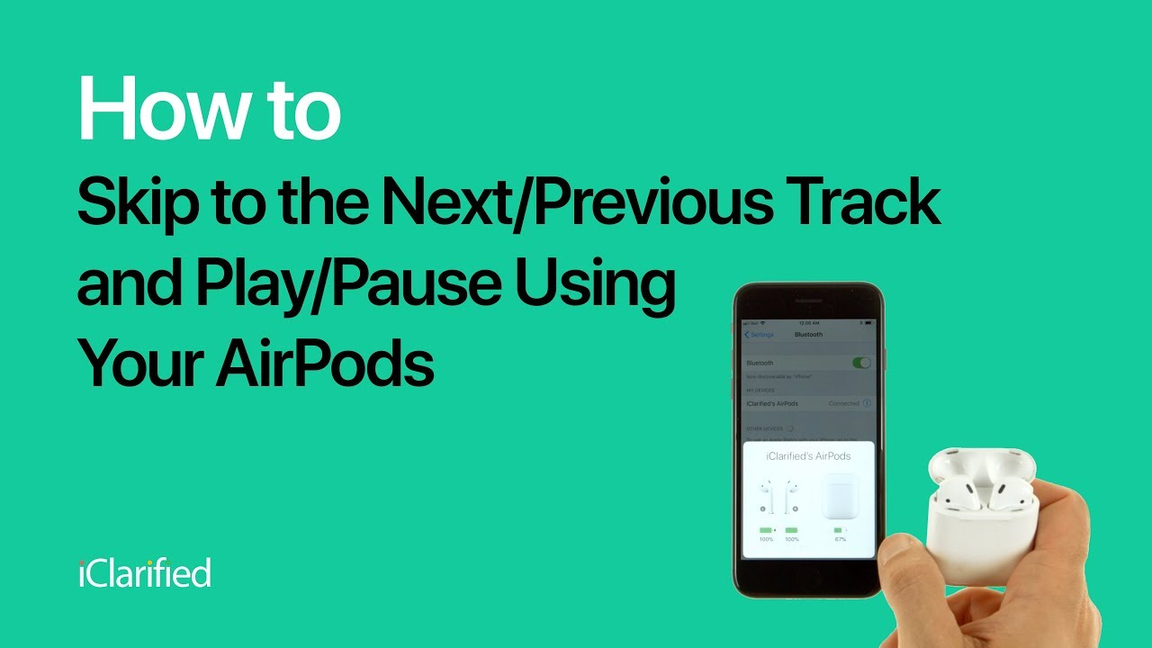 Play Pouse - How to Skip to the Next/Previous Track and Play/Pause Using Your ...