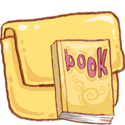 Book Icon Ico Png - Hp folder book Icon - ico,png,icns,Icon pack download